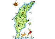 karta gotland sevärdheter Fiskelägen på Gotland karta gotland sevärdheter